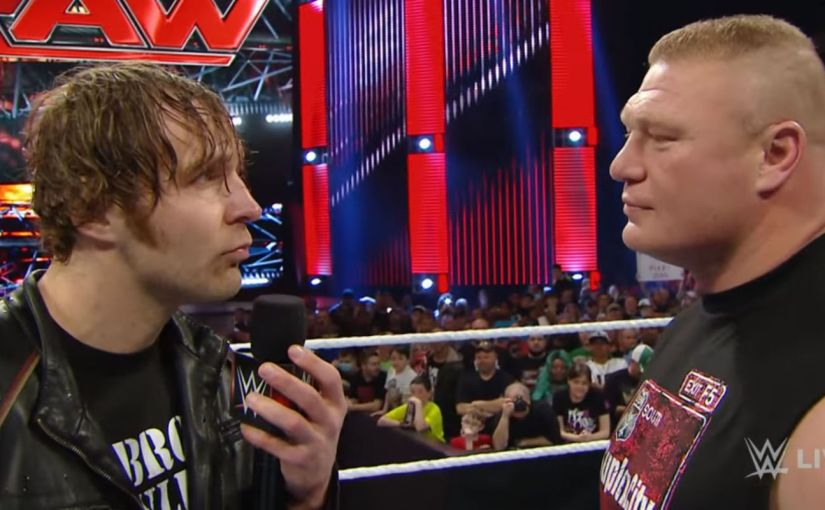 Over The Top 13: Flipping the Script? Dean Ambrose vs Brock Lesnar at Wrestlemania?