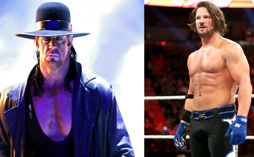 Over The Top: AJ Styles vs Undertaker at Wrestlemania?!