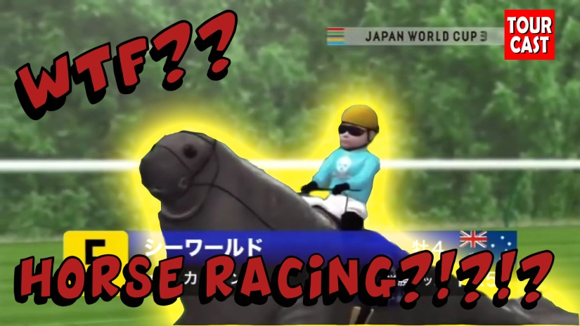 WTF?!? Japanese Horse Racing??