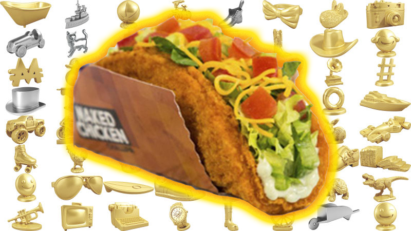 TourCast: New Monopoly Pieces and Chicken TacoShells