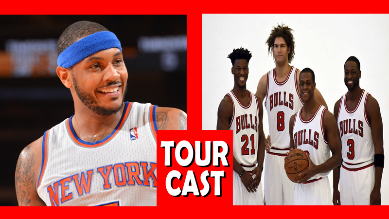 TourCast: Carmelo and the Bulls