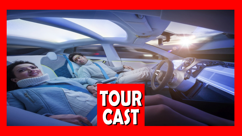 TourCast: Shower Thoughts and Self Driving Cars