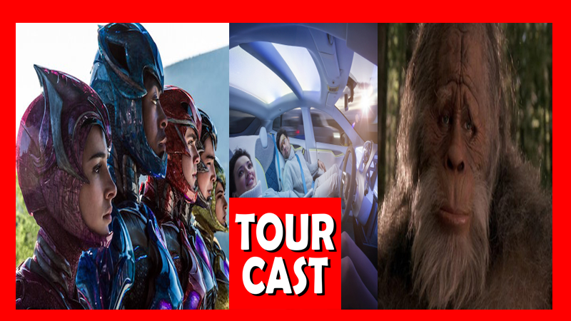 TourCast: Big Foot, Self Driving Cars and PowerRangers