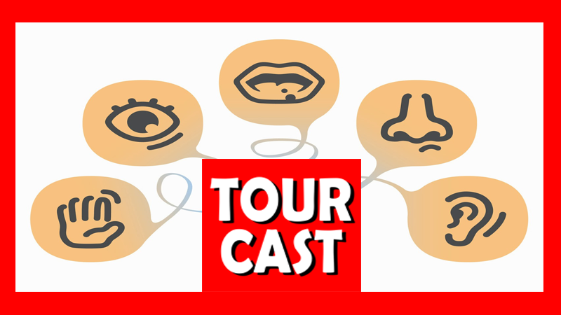 TourCast: Which Sense Would You Give Up?